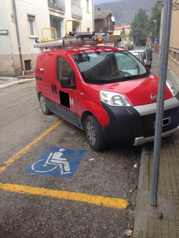 Parcheggi per disabili
