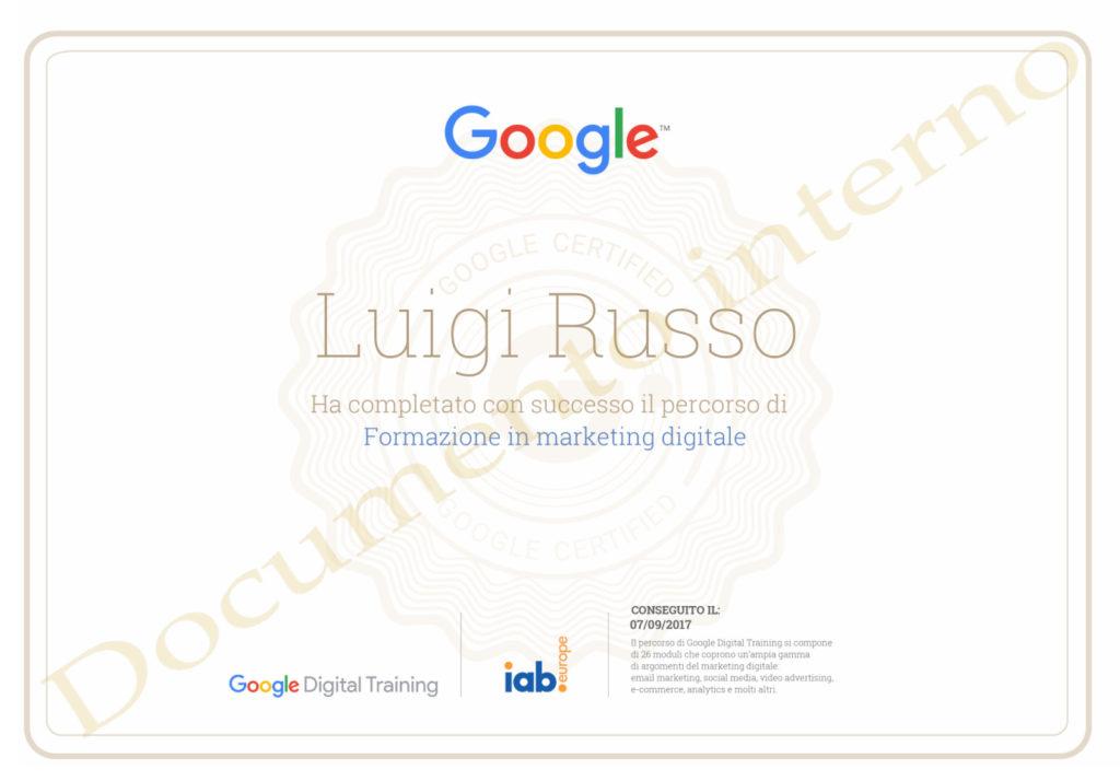 Attestati e corsi di settore: Marketing Digitale