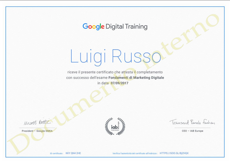 Digita Training Google