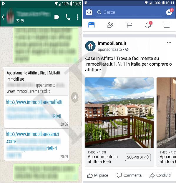 Social e dati condivisi