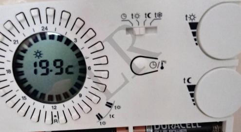 Cronotermostato manuale